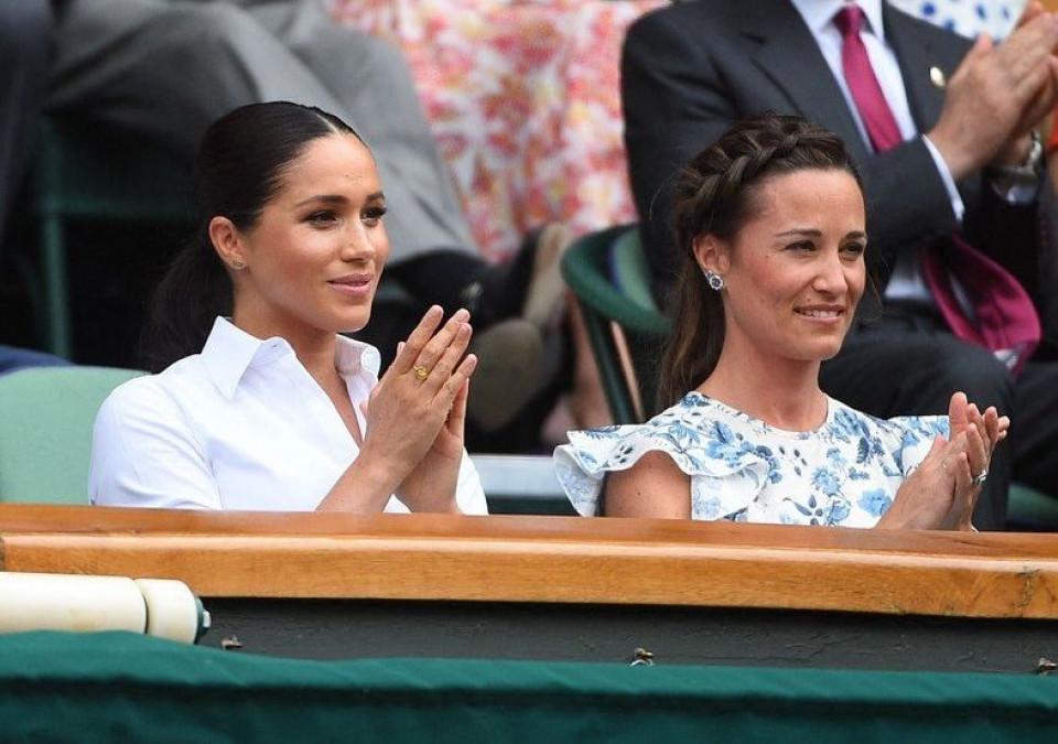 Gestul ciudat facut de Meghan Markle la adresa Simonei Halep, in finala Wimbledon!  Serena Williams a dat-o de gol
